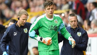 Pope shoulder surgery leaves Burnley assessing keeper options