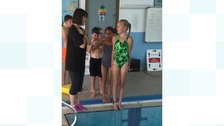Chilren take plunge in water safety lessons