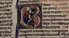 Historic bible back at Canterbury Cathedral