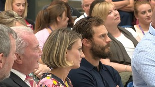 Jamie Dornan speaks about losing his mother to pancreatic cancer.