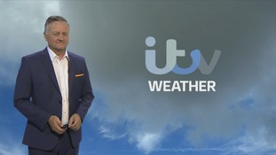 Another dry muggy day in store today