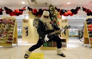 Selfridges says the Christmas shop is popular with visitors from overseas.