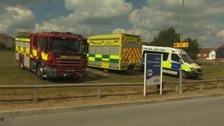 Wiltshire ambulance
