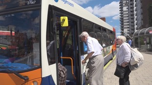 Funding cuts could mean an end to free bus travel in Hampshire