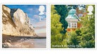 Some of Britain's most significant landmarks are featured on a new collection of stamps.