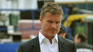 F1 driver David Coulthard