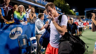 Andy Murray left in tears after gruelling beating over Marius Copil.