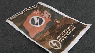 Larne residents 'intimidated' by fascist leaflets