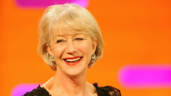 Dame Helen Mirren is nominated for Best Actress for her role in Hitchcock