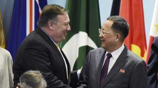 North Korea hits back at United States over sanctions enforcement