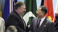 Washington's Secretary of State Mike Pompeo had met his counterpart from Pyongyang in person at a summit in Singapore.