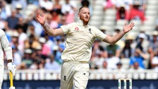 Ben Stokes took four wickets for 40 runs in a thrilling victory for England.