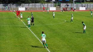 Guernsey FC beaten by Worthing in pre-season
