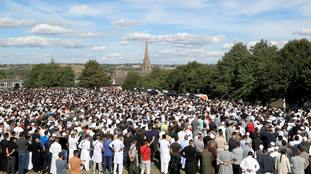 'The whole of Bradford has been rocked': Thousands attend funerals of four men who died in police pursuit