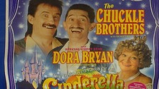 Barry starred in a performance of Cinderella in 1994.