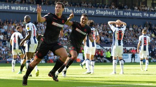 West Brom were beaten 2-1 by last season strugglers Bolton upon their return to the Championship