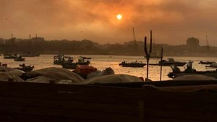 British tourist describes terror of Portugal wildfires