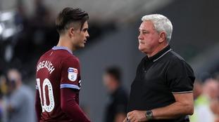 Steve Bruce hopeful Aston Villa can keep hold of Jack Grealish before the transfer window shuts