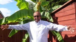 Thornaby man finally able to grow bananas thanks to heatwave