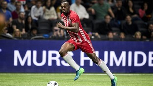 Usain Bolt given 'indefinite' trial with Australian football club Central Coast Mariners