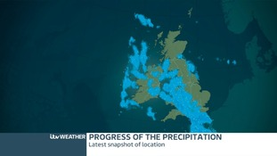 latest snapshot of inbound precipitation