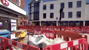 Traders say town centre work has had 'devastating' effect