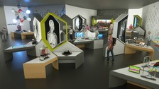 Concept designs for new exhibitions at Techniquest