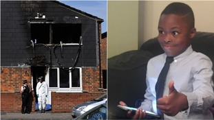 The seven-year-old boy killed in the fire has been named locally as Joel Urhie.