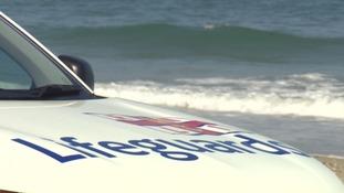 RNLI Lifeguards car