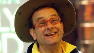 'Awful irony' after entertainer Timmy Mallett's Europe pilgrimage bike is stolen from local pub