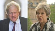 Boris Johnson said Muslim women wearing burkas look like bank robbers.
