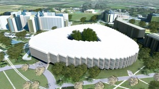 AstraZeneca is building its new headquarters at the Cambridge Biomedical Campus.