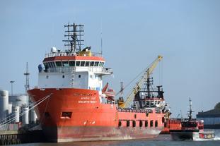 Indian supply vessel Malaviya Twenty