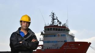 Captain Nikesh Rastogi is preparing to return home after 18 months stranded on a ship in port at Great Yarmouth