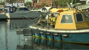Husband and wife's vow to clean up Kent's waterways