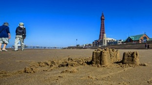 The flood defence system was built to protect Blackpool's iconic seafront