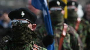 Masked members of the Real IRA