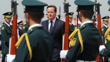 David Cameron arrives in Tokyo this morning on the first day of a four day tour of the far east