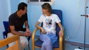 Asma Assad is understood to be in a military hospital in Damascus.