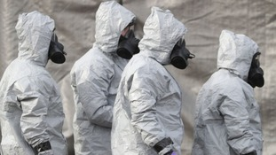 Up to 190 specialist military personnel took part in the post-poisoning clean-up in Salisbury.