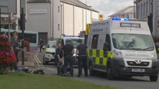 Two women hit by vehicle in Dumfries