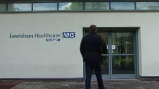 A man walks in to Lewisham Hospital