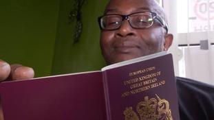 Windrush citizen finally granted British passport