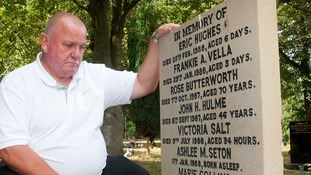 'Devastated' father's been grieving at the wrong spot for 30 years after baby's headstone moved