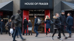Department store House of Fraser has been in discussions to secure its future.