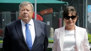 Viktor and Amalija Knavs have been sworn in as US citizens.