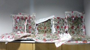 Man and woman arrested over NI £1m cannabis haul