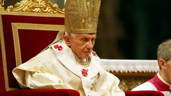 "Pope Benedict XVI said he is ""fully aware of the gravity of this gesture"", according to Reuters."