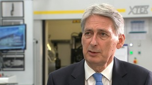 Philip Hammond said that high street stores needed to adapt.