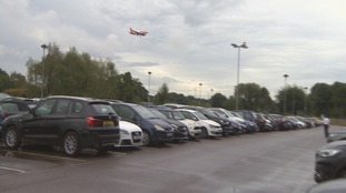 Residents' petition over airport passenger parking row